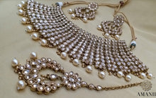 Load image into Gallery viewer, Celebrity Glam Jewellery Necklace Set By Amanii - LebaasOnline
