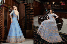 Load image into Gallery viewer, VIPUL- Trendy Pastel Coloured Indian Gowns - LebaasOnline