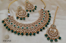 Load image into Gallery viewer, Semi bridal Crystal Collection Jewellery sets - LebaasOnline