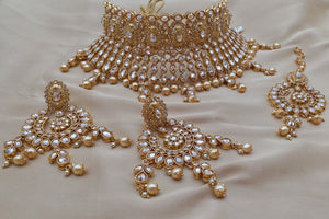 High Gold Choker Bridal Jewellery sets - LebaasOnline