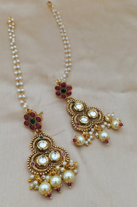 Sabyasachi inspired stylish Indian heritage bridal jewellery sets - LebaasOnline
