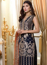 Load image into Gallery viewer, Shamrock by Maryum N Maria Embroidered Chiffon 3-Piece Suit SMM 2019 - Premium Wedding Collection - LebaasOnline