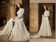 Load image into Gallery viewer, Bridal white Maisha Anarkali Suit - LebaasOnline