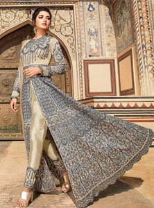 Highly Embroidered designer suit - LebaasOnline