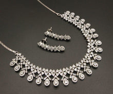 Load image into Gallery viewer, Great Gatsby American Diamond Necklace - LebaasOnline