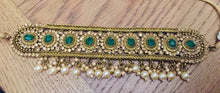 Load image into Gallery viewer, JANVI Antique Gold chocker sets - LebaasOnline