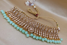 Load image into Gallery viewer, Tiffany Blue Crystal Party Jewellery Set - LebaasOnline