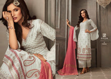 Load image into Gallery viewer, Wedding Party Sharara Suit by Zoya Petals 2019 - LebaasOnline