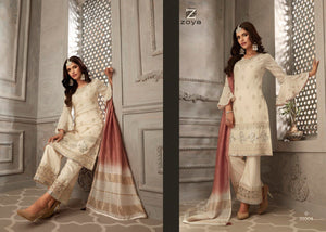 Wedding Party Sharara Suit by Zoya Petals 2019 - LebaasOnline