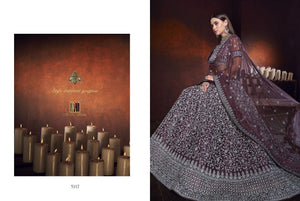 MN Designer Indian wedding Lehnga - LebaasOnline