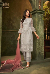 Sophisticated Sharara Suit by Zoya Emotions - LebaasOnline
