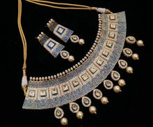 Load image into Gallery viewer, Sabhyasachi Inspired Kundan Meenakari Jewelry Set - LebaasOnline