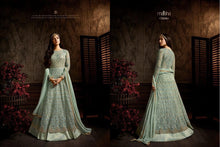 Load image into Gallery viewer, Midnight Blue Anarkali Gown By Maisha Aafreen - LebaasOnline