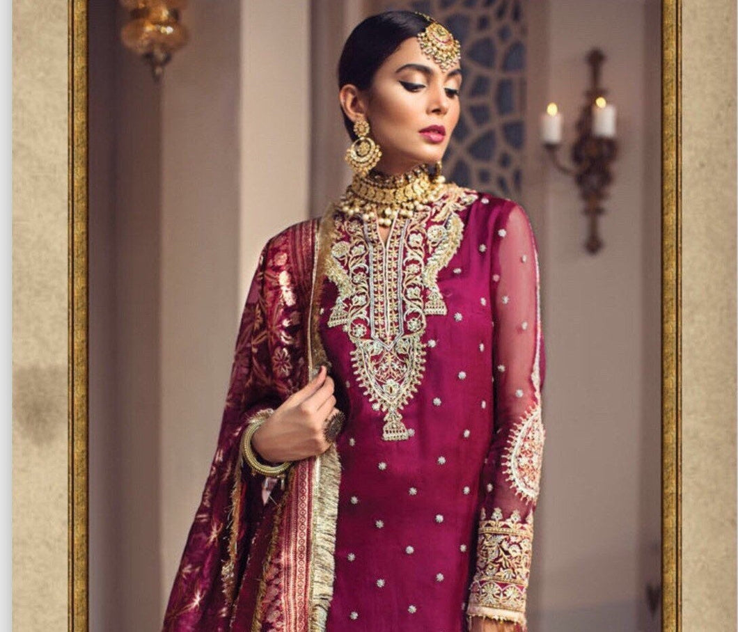 Anaya Luxury Wedding 2019 SHIRIN and SHAHBANO - LebaasOnline