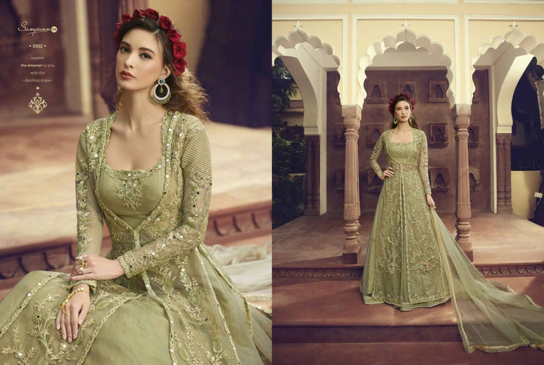 INDIAN SAMPANN- 2019 latest Designer Anarkali Suits - LebaasOnline