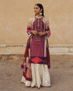 ZARA SHANJAHAN Shabnam b Lawn Suit 2020 online Pakistani Anarkali Suits Party Wear Indian Dresses Pakistani Dresses