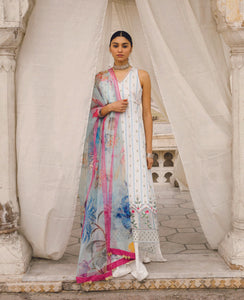 ZARA SHANJAHAN Jehanara b Lawn Suit 2020 online Pakistani Anarkali Suits Party Wear Indian Dresses Pakistani Dresses