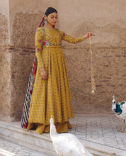 Load image into Gallery viewer, ZARA SHANJAHAN Meher Bano a Lawn Suit 2020 online Pakistani designer dress Anarkali Suits Party Werar Indian Dresses