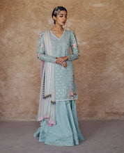Load image into Gallery viewer, ZARA SHANJAHAN Meher Bano b Lawn Suit 2020 online Pakistani Anarkali Suits Party Wear Indian Dresses Pakistani Dresses