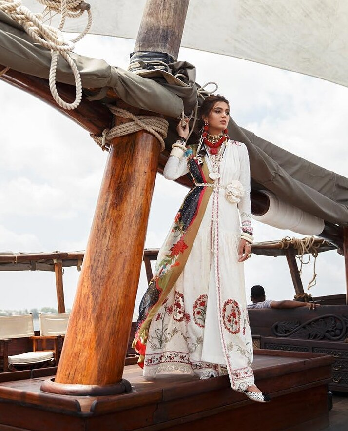 ELAN LUXURY LAWN SUITS NALAH 2020 online Pakistani designer dress Anarkali Suits Party Werar Indian Dresses Pakistani Dresses