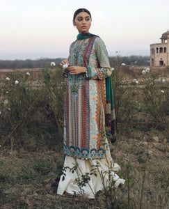 ZARA SHANJAHAN Roshan Ara b Lawn Suit 2020 online Pakistani Anarkali Suits Party Wear Indian Dresses Pakistani Dresses