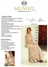 Load image into Gallery viewer, Buy MUSHQ Pakistani Party Dresses 2020, Mushq trousseau de luxe'20 -DN 05 in the UK, France, Dubai & USA -SALE ! Shop Pakistani Clothes Online UK in Ready To Wear Sizes at our Online Boutique. Lebaasonline are the largest Original Pakistani Designer Dresses store in the UK.