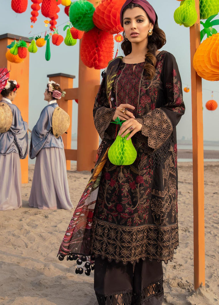 Buy Iznik Luxury Lawn 2021| Phantom | 09 Black Dress at exclusive rates Buy unstitched or customized dresses of IZNIK LAWN 2021, MARIA B M PRINT LAWN 2021 IMROZIA COLLECTION, Gulal dresses of Evening wear, Party wear and NIKAH OUTFITS ASIAN PARTY WEAR Dresses can be available easily at USA & UK at best price in Sale