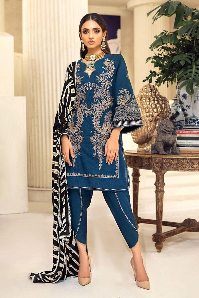 Buy now SANA SAFINAZ | Muzlin Winter'20 | M203-014A-CP at great price from Lebaasonline.co.uk