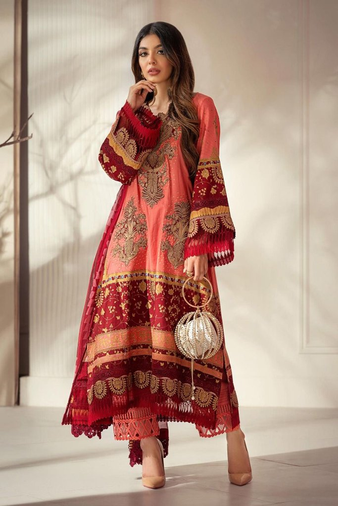 Buy now SANA SAFINAZ | Muzlin Winter'20 | M203-002A-CI at great price from Lebaasonline.co.uk