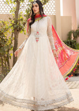 Load image into Gallery viewer, Buy MARIA.B. Lawn Eid Collection 2021 D8 White Lawn Eid 2021 dress unstitched and Stitched. MARIA B EID COLLECTION 2021 Rejoice this Eid ambiance with balance of dynamic hues with NEW Pakistani designer clothes 2021 from the top fashion designer such as MARIA. B online in UK & USA Express shipping to London Manchester