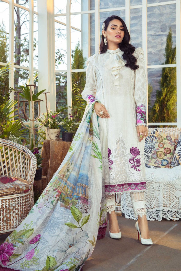 Mprints Maria B 2021 | MPT-1003-A MARIA B Mprints 2021 – 100% Original Guaranteed! Shop MariaB Mprints, MARIA B Printed Lawn from LebaasOnline.co.uk on SALE Price in the UK, USA, Belgium, Australia & London. Explore the latest collection of Pakistani designer Summer dresses at Lebaasonline today - With DISCOUNT CODE
