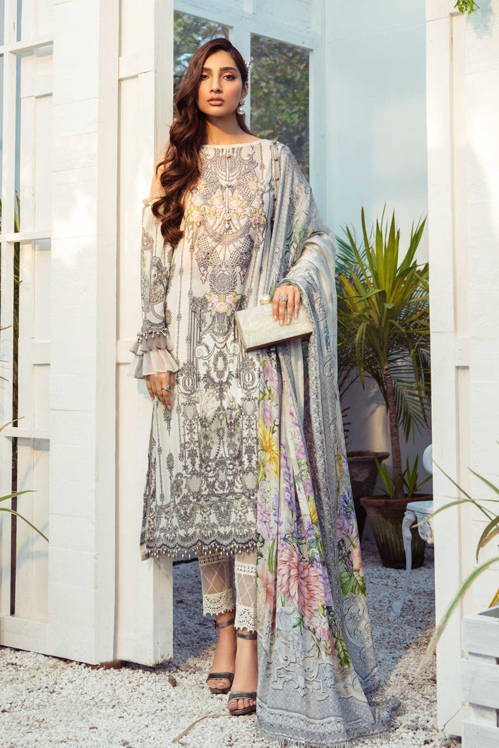 Mprints Maria B 2021 | MPT-1005-B MARIA B Mprints 2021 – 100% Original Guaranteed! Shop MariaB Mprints, MARIA B Printed Lawn from LebaasOnline.co.uk on SALE Price in the UK, USA, Belgium, Australia & London. Explore the latest collection of MariaB Mprint summer collection and MariaB mprint luxury outfit at Lebaasonline today - With DISCOUNT CODE