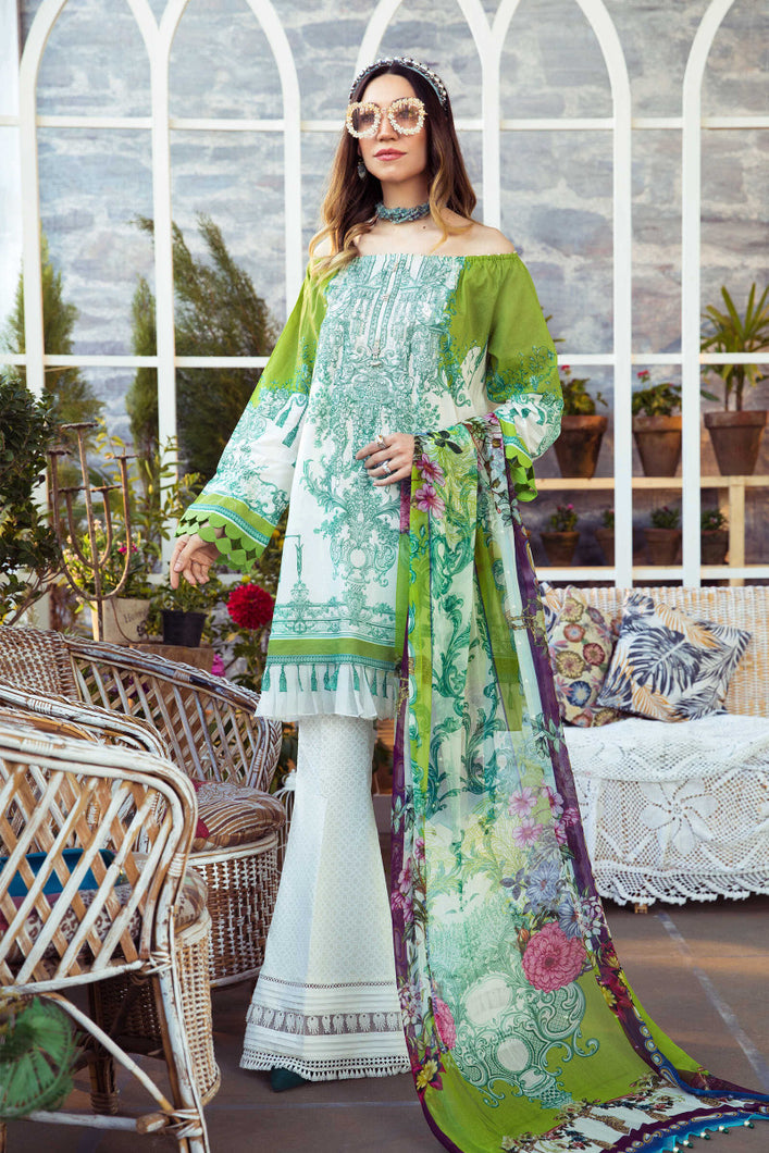 Mprints Maria B 2021 | MPT-1007-A MARIA B Mprints 2021 – 100% Original Guaranteed! Shop MariaB Mprints, MARIA B Printed Lawn from LebaasOnline.co.uk on SALE Price in the UK, USA, Belgium, Australia & London. Explore the latest collection of MariaB Mprint lawn and asian party wear dresses at Lebaasonline today - With DISCOUNT CODE
