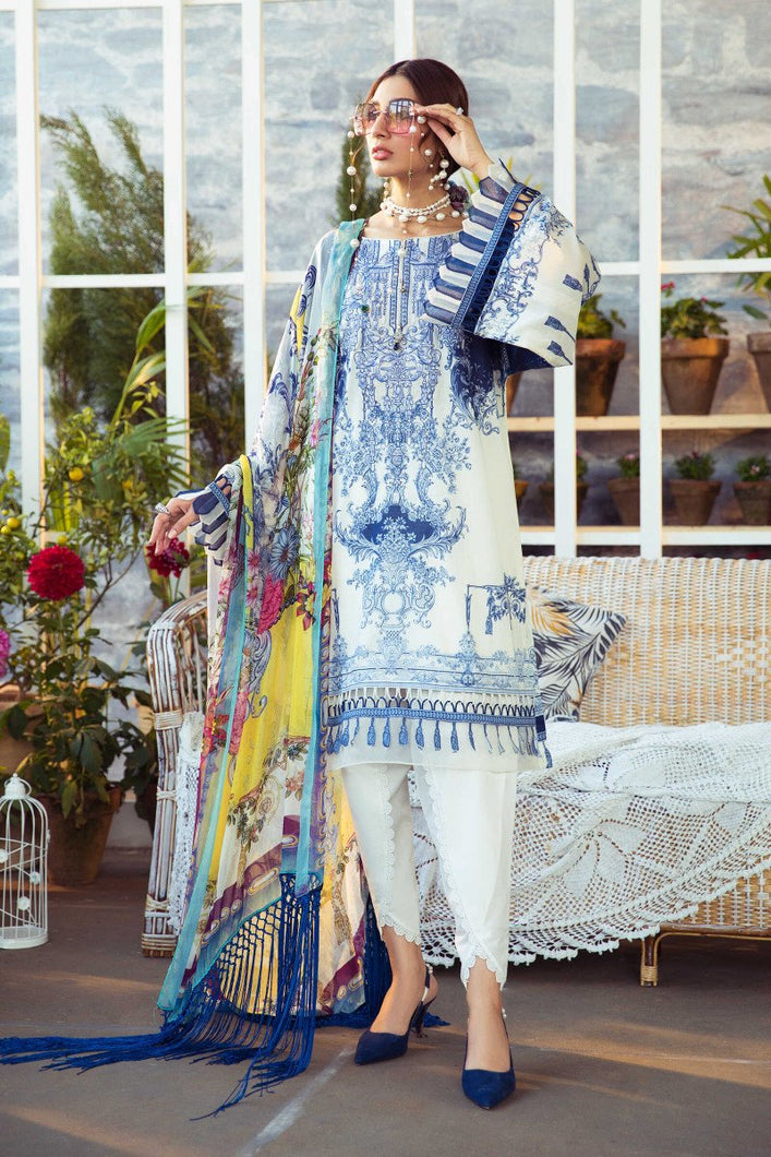 Mprints Maria B 2021 | MPT-1007-B MARIA B Mprints 2021 – 100% Original Guaranteed! Shop MariaB Mprints, MARIA B Printed Lawn from LebaasOnline.co.uk on SALE Price in the UK, USA, Belgium, Australia & London. Explore the latest collection of MariaB Mprint lawn and asian party wear dresses at Lebaasonline today - With DISCOUNT CODE