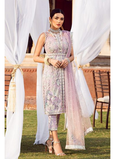 Gulaal Wedding Collection Purple - LebaasOnline