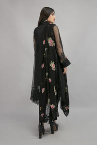 Suit Black SF-EA20-13 | Maria B Evening Wear | Maria B Winter Wear