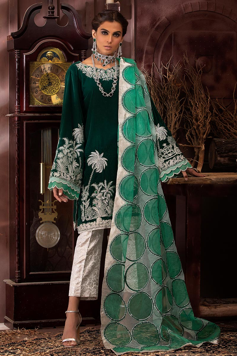 Mushq Velvet Collection 2020 Vol 005 - LebaasOnline