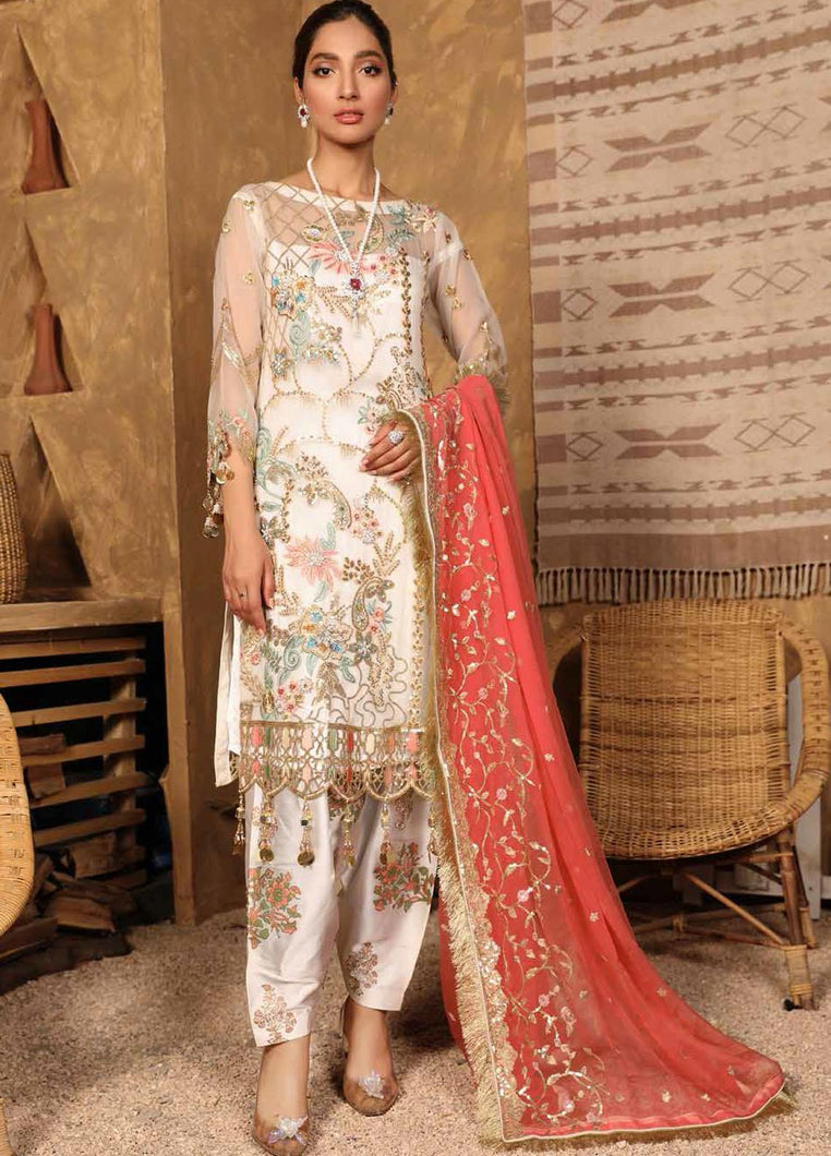 Buy Emaan Adeel | Virsa Luxury Chiffon Collection 2021 | VR 09 from Emaan Adeel's latest Bridal collection. We are stockists of Emaan Adeel Chiffon 2021 collection, Maria b dresses Various Pakistani designer brands are available exclusively on SALE! Buy Asian dresses UK from Lebaasonline in UK, Spain, Austria!