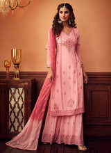 Load image into Gallery viewer, Designer Sharara Suit 2020 - Light Pink by ZOYA Traditions