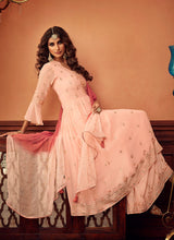 Load image into Gallery viewer, Designer Sharara Suit 2020 - Light Peach by ZOYA Traditions