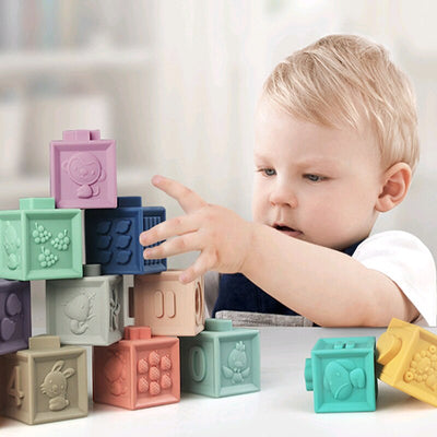 12pcs Baby Building Blocks Toy