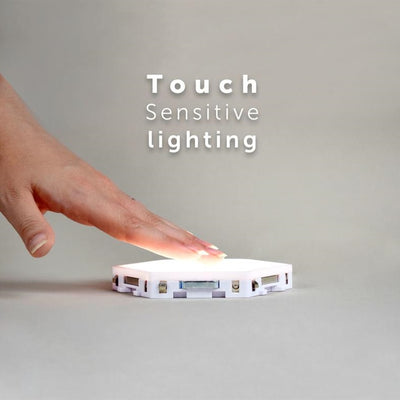 DIY sensitive touch lighting