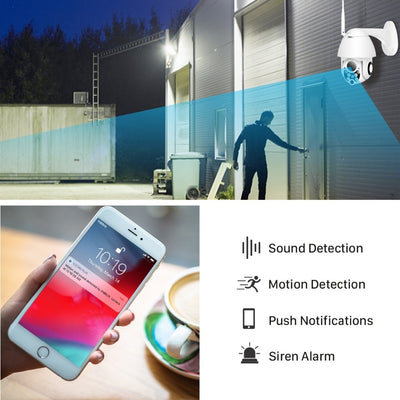 Wireless Outdoor IP Security Camera