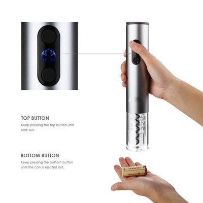 Best Automatic Electric Wine Bottle Opener - Push Button