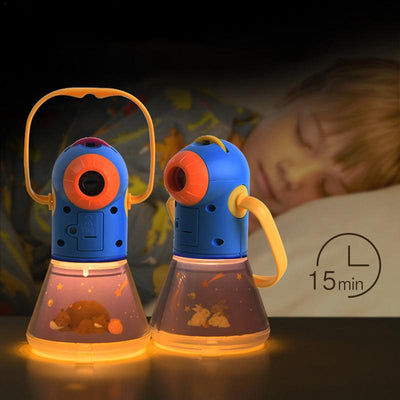Starry Night Light Multi functional Story Projector