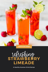 Collagen Strawberry Limeade Recipe Image