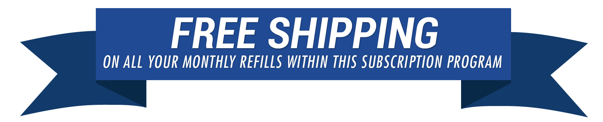 Free Shipping with Subscriptions