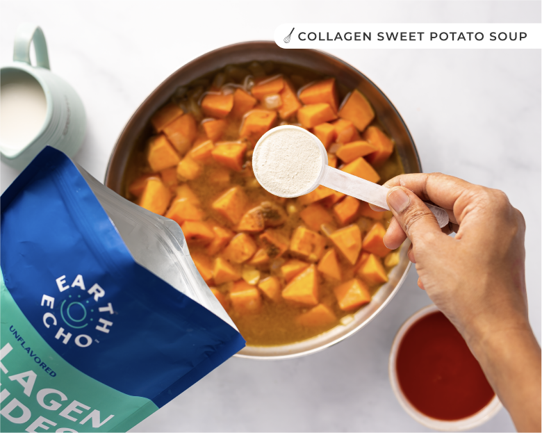 Collagen peptides potato soup