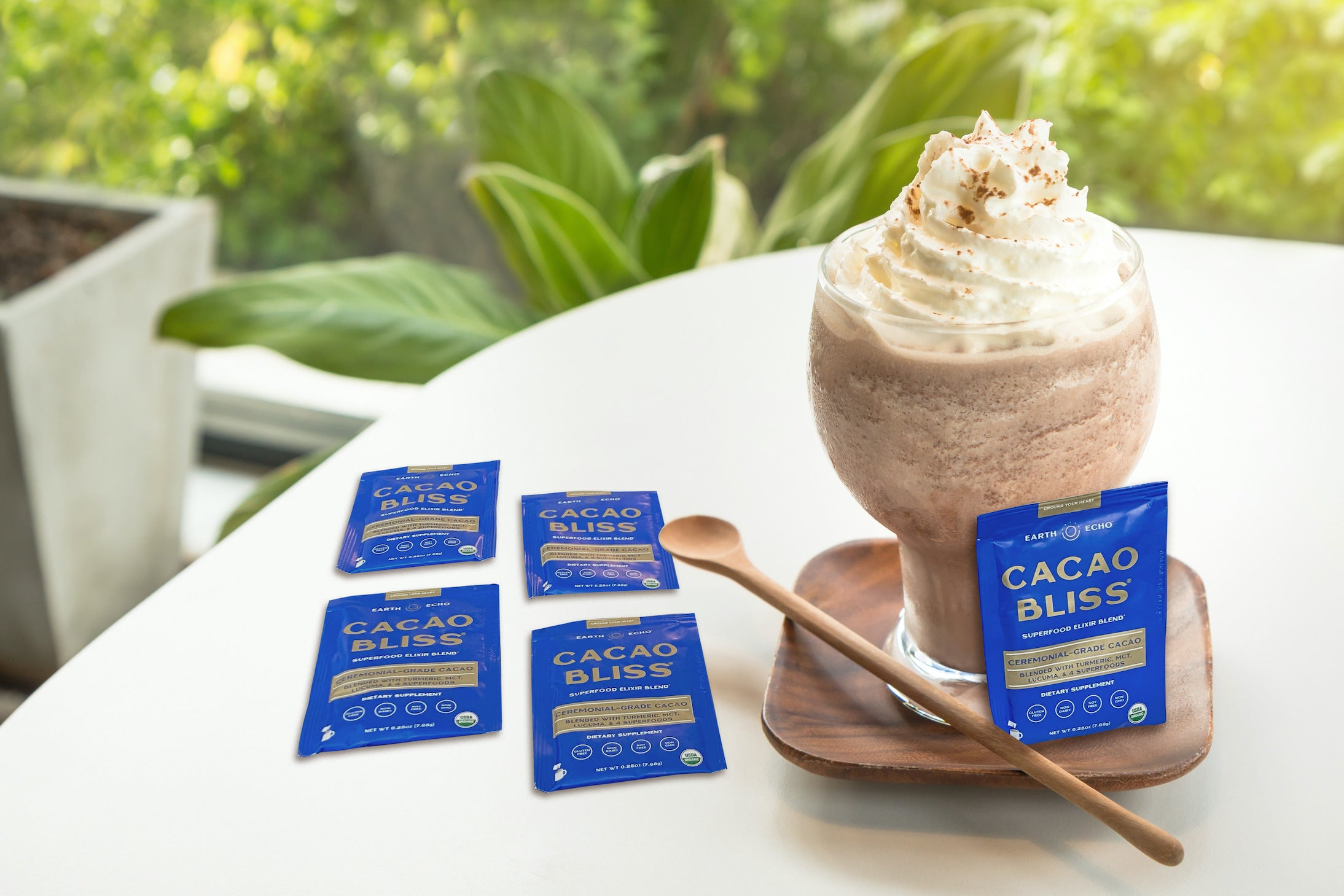 Cacao Bliss Travel Packs Yummy Dessert Image