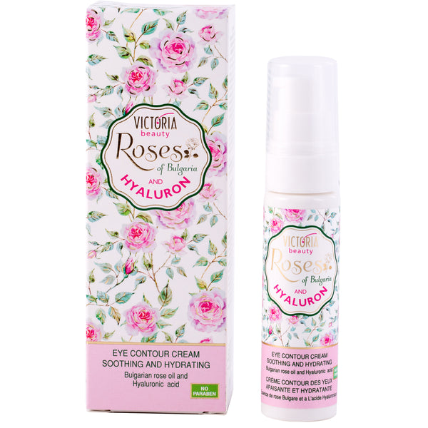 Eye Cream with Bulgarian Rose Oil and Hyaluronic Acid